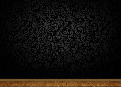floor, 3D view, abstract, minimalistic, dark, wood, patterns, wood floor - related desktop wallpaper