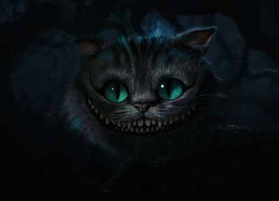 cats, Alice in Wonderland, fantasy art, Cheshire Cat - desktop wallpaper