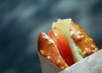 sandwiches, food, tomatoes - random desktop wallpaper