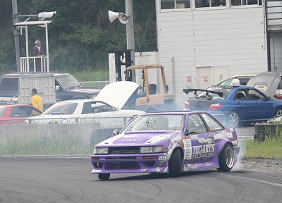 cars, Toyota, drifting cars, vehicles, Toyota AE86, panda trueno - related desktop wallpaper
