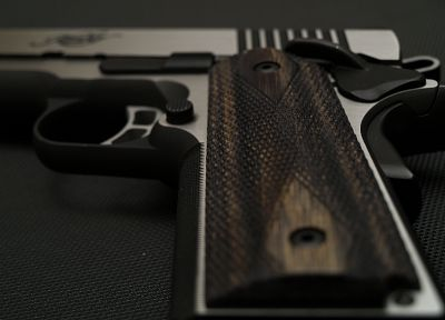 pistols, guns, weapons, M1911, kimber - related desktop wallpaper