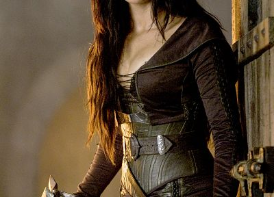 brunettes, women, movies, blue eyes, Bridget Regan, Legend Of The Seeker, actress, Kahlan Amnell - related desktop wallpaper