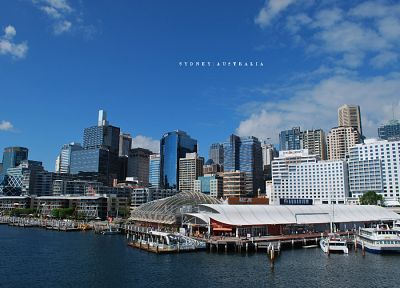 cityscapes, urban, Sydney, Australia - desktop wallpaper
