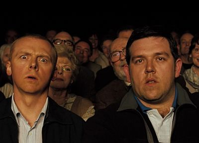 movies, Simon Pegg, Nick Frost - random desktop wallpaper