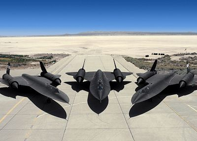 aircraft, stealth, Blackbird, SR-71 Blackbird - random desktop wallpaper