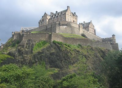 castles, Edinburgh, Edinburgh Castle - random desktop wallpaper