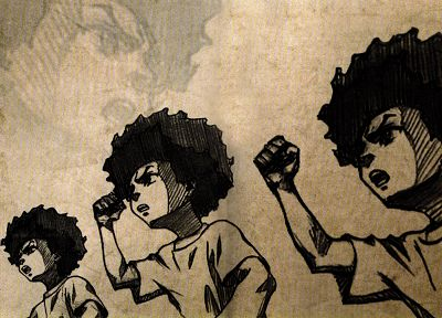 The Boondocks - random desktop wallpaper