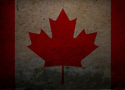 grunge, Canada, flags, Canadian flag - random desktop wallpaper