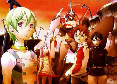 Eureka Seven, Nirvash, Renton Thurston - random desktop wallpaper