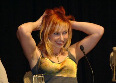 women, Mythbusters, redheads, Kari Byron - related desktop wallpaper