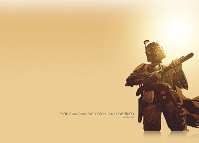 Star Wars, Boba Fett, artwork - desktop wallpaper