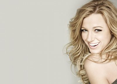 blondes, women, actress, Blake Lively, models - desktop wallpaper