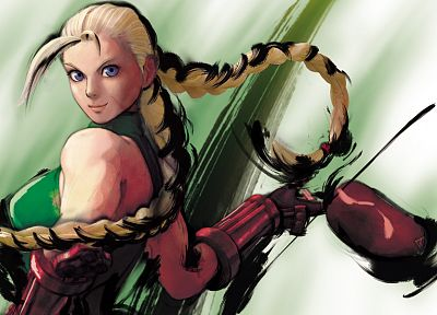 video games, Street Fighter, Cammy White - desktop wallpaper