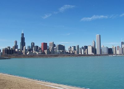 cityscapes, Chicago, architecture, buildings - related desktop wallpaper