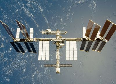 satellite, orbit, International Space Station, space station - related desktop wallpaper