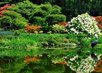 garden, shore, Oregon, oriental, parks - random desktop wallpaper