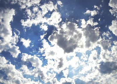 blue, clouds, skyscapes - related desktop wallpaper