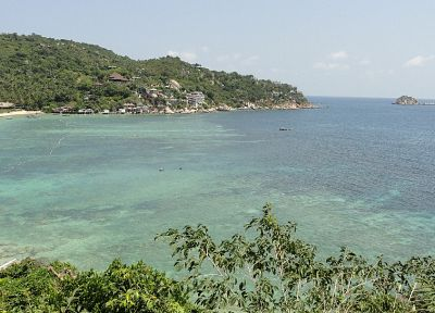ocean, landscapes, Thailand, ko phangan, sharks bay, beaches - related desktop wallpaper
