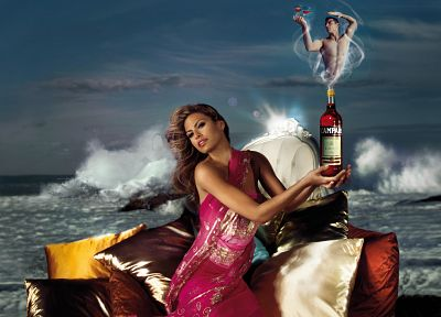 Eva Mendes, Campari - random desktop wallpaper