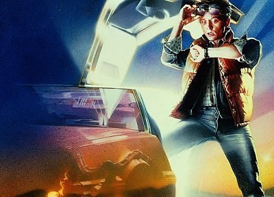 Back to the Future, Marty McFly, Drew Struzan - related desktop wallpaper