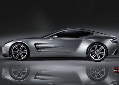 cars, Aston Martin, reflections - random desktop wallpaper