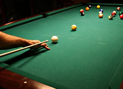billiards tables - desktop wallpaper