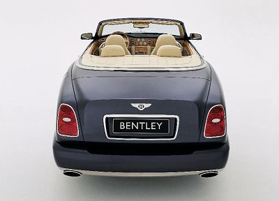 cars, Bentley Azure, rear view cars - random desktop wallpaper