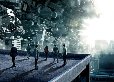 movies, Inception, fantasy art, science fiction - related desktop wallpaper