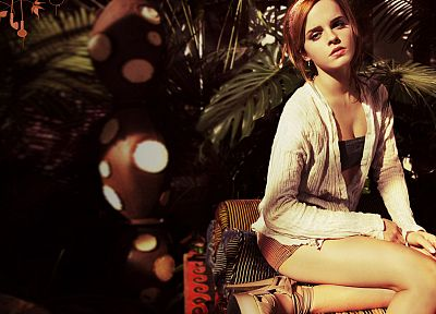 women, Emma Watson, actress - random desktop wallpaper