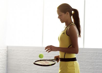 women, tennis, Ana Ivanovic, athletes - random desktop wallpaper