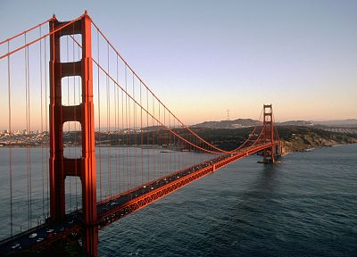 bridges, Golden Gate Bridge - random desktop wallpaper