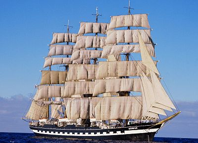 ships, vehicles, sails - desktop wallpaper