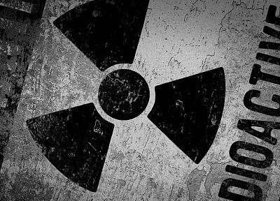 signs, radioactive - random desktop wallpaper