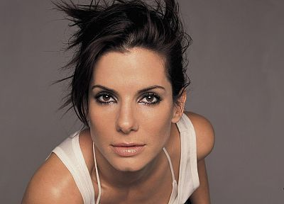 brunettes, women, Sandra Bullock - random desktop wallpaper