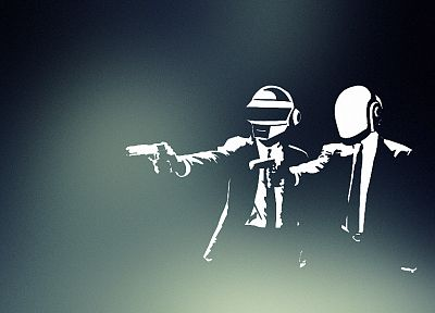 Daft Punk, Pulp Fiction - related desktop wallpaper