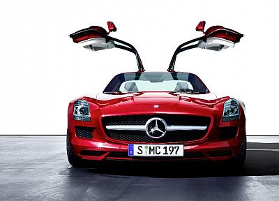 cars, vehicles, Mercedes-Benz SLS AMG E-Cell - random desktop wallpaper