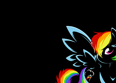 My Little Pony, Rainbow Dash - random desktop wallpaper