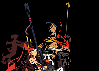 Kamina, Tengen Toppa Gurren Lagann, transparent, Littner Yoko, anime vectors - related desktop wallpaper