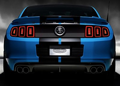 blue, cars, vehicles, Ford Mustang, Ford Shelby, Ford Mustang Shelby GT500 - related desktop wallpaper