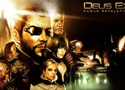 video games, Deus Ex, Deus Ex: Human Revolution - desktop wallpaper