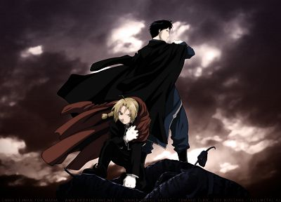 Fullmetal Alchemist, Elric Edward, Roy Mustang - related desktop wallpaper