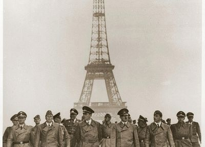 Paris, Nazi, World War II, historic - random desktop wallpaper