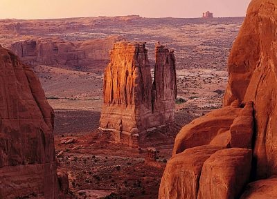 landscapes, deserts, Arches National Park, Utah, rock formations - related desktop wallpaper