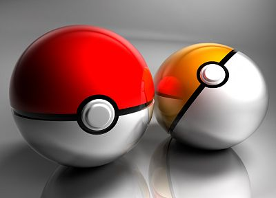 Poke Balls - random desktop wallpaper