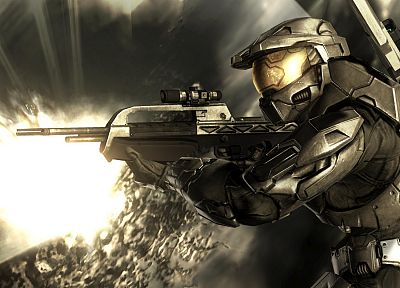 Halo, artwork, games - desktop wallpaper
