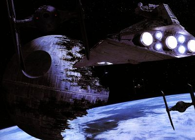 Star Wars, outer space, Death Star, Tie fighters, Star Destroyer - related desktop wallpaper