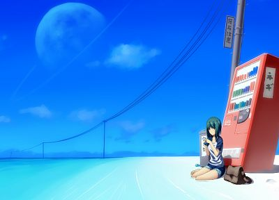 ocean, vending machines, beaches - random desktop wallpaper