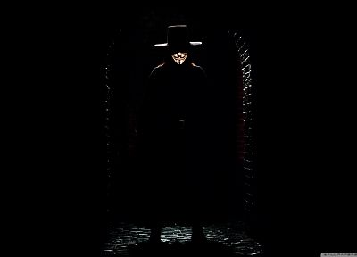 dark, movies, V for Vendetta - random desktop wallpaper