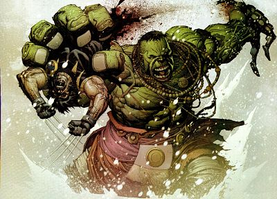 Hulk (comic character) - random desktop wallpaper