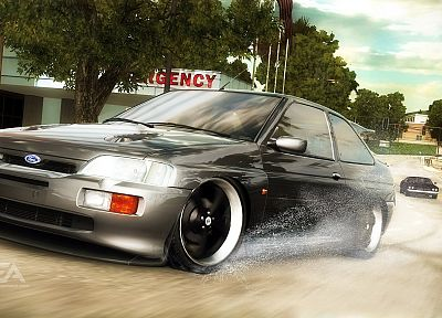 video games, cars, Need for Speed, Need For Speed Undercover, Ford Escort, games, pc games - related desktop wallpaper